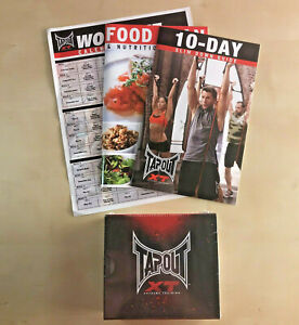 Tapout XT Extreme Training DVD Set 13 NEW Cardio Yoga Plyo Abs Core Combat Books