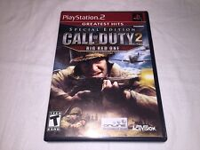 Call of Duty 2: Big Red One - Special Edition (Playstation PS2) Complete Exc!