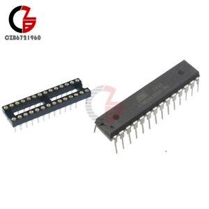 IC ATMEGA328P-PU ATMEGA328P DIP28 Microcontroller ATMEL+28Pin DIP Narrow SOCKET