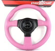 Genuine personali (NARDI) GRINTA 330 mm Neon Rosa Volante in Pelle. 8 A