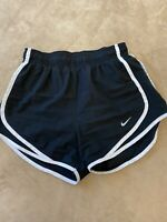 NIKE Dri Fit Woman's Size XS TEMPO Running Athletic Shorts Lined Black