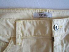 Jeansrock, esprit, helles gelb, Gr. 33 inches, wie neu