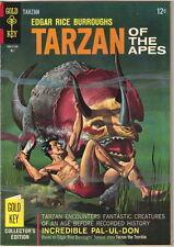 Tarzan Comic Book #167, Gold Key Comics 1967 FINE+