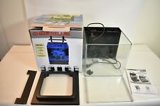 Nice Used Marineland Contour 3 Desktop Aquarium Kits 3 Gallon Contour 3 Aquarium