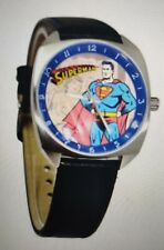 New Superman Fossil Watch in Tin Action Comics 0198/3000 LI-2061 Black