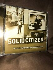 Charles Bukowski Solid Citizen CD  Import Spoken Word Comedy Very Good Condition