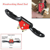 9'' Metal Manual Planer Plane Blade Spoke Shave Deburring Hand Woodworking Tools