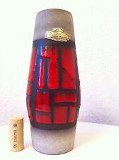 Bay Keramik Vase 70er 60er 70s 60s Lava pop ceramics wgp, Jasba schlossberg ära