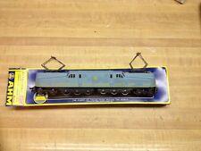 "VINTAGE ""AMERICAN RAILROADS"" BLUE 5160-F ELECTRIC TRAIN WITH A BOX"