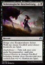 4 Necromantic Summons / Nekromagische Beschwörung (mint Magic Origins, deutsch)