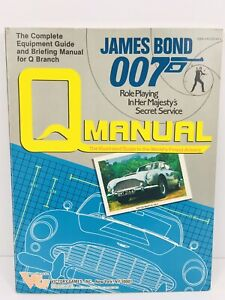 JAMES BOND GameQ MANUAL 007 Role Playing In Her Majesty's Secret Service #35001