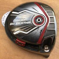 CALLAWAY GREAT BIG BERTHA 10.5 DEGREE Driver Head