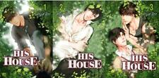 Hajin Yoo HIS HOUSE Young Adult LGBT English MANGA Series Collection Volumes 1-3
