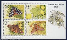 """Ireland - """"BUTTERFLIES ~ FAUNA & FLORA"""" MNH Miniature Sheet MS 1994 !"""