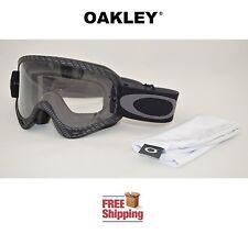 OAKLEY® O-FRAME® GOGGLES MX ATV MOTOCROSS MOTORCYCLE OFF ROAD CARBON FIBER MATTE