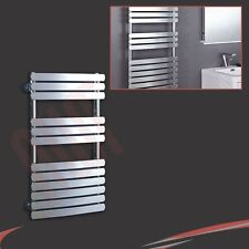 500mm(w) x 800mm(h) Castell Chrome Heated Towel Rail 1835 BTUs Radiator Warmer