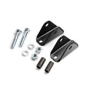 Teraflex 1204800 Rear Upper Shock Bar Pin Eliminator Kit for 04-06 Wrangler LJ