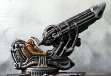 H R GIGER - ALIEN SPACE JOCKEY - RARE PAINTED RESIN MODEL - EARLY GARAGE KIT