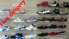 10 x shoe shelf for slat panel wall display