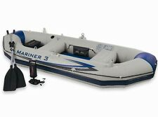 INTEX 68373 Schlauchboot Mariner 3 Boot für 3 Personen Ruderboot Paddelboot