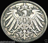 Germany German Empire 1898A 5 Pfennig Coin