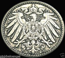 Germany - German Empire - German 1898A 5 Pfennig Coin - Great Coin