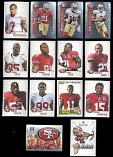 2013 San Francisco 49ers Sticker Set FRANK GORE COLIN KAEPERNICK PATRICK WILLIS