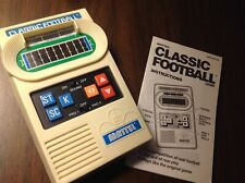 Vintage Mattel Classic Football Electronic Game Player VS Computer Works