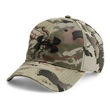 brand new 6414a 91067 Under Armour Mens Camo Cap 2.0 Ridge Reaper Barron   Black OSFM