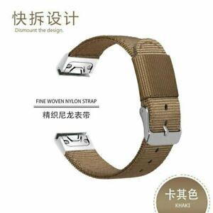 26mm Nylon Watch Band for Garmin Fenix 5x 6x Plus 3 hr Wristband Quick End Strap