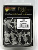 Pike & Shotte 203010002 P&S Villagers (Warlord Games) Male & Female Civilians