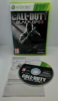 Call of Duty: Black Ops II 2 Video Game for Xbox 360 PAL TESTED
