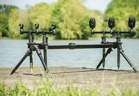 Leeda Rogue Easy Assembled Carp 3 in 1 Rod Pod + Carry Case Carp Fishing