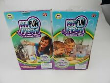 My Fun Fish Self Cleaning Tank Small Aquarium As Seen on TV Lot of 2