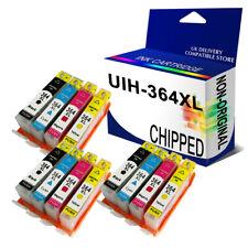 12 X Ink Cartridges unbrand fits hp 364XL DESKJET 3070A 3524 OFFICEJET 4620 4622