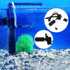 200l/h 2W Aquarium Pond Internal Filter for Fish Tank Submersible NEW CR5J