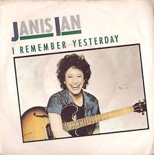 DISCO 45 Giri  Janis Ian - I Remember Yesterday / Restless Eyes