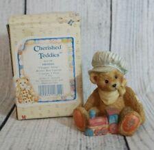 Thomas Chuggin' Along Vintage '92 Cherished Teddies Collectible Figurine #911739