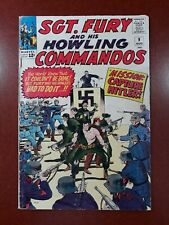 Sgt. Fury and his Howling Commandos #9  1964  Hitler app.