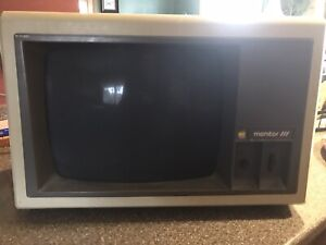 Apple III monitor for parts