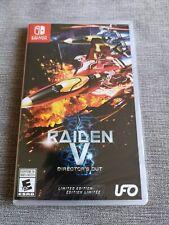 Raiden V : Director's Cut [LTD Edition] For Nintendo Switch RARE limited print