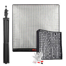 FalconEyes RX-24TDX 150W 756pcs LEDs Video Panel Light+ Softbox+ 2m(6.5ft) Stand