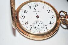 Antique Hamilton Pocket Watch 16 Size 17 Jewels Goldfilled (NR)
