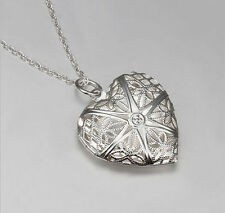 Crystal Heart Beauty Costume Necklaces & Pendants