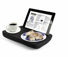 Kikkerland LAP DESK iBED Portable CUSHIONED Tablet STAND Tray - BLACK