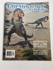 Prehistoric Times mag #134 Summer 2020 Diplodocus dinosaur paleo neanderthals