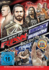 WWE The Best Of Raw And Smackdown 2015 3x DVD DEUTSCHE VERKAUFSVERSION