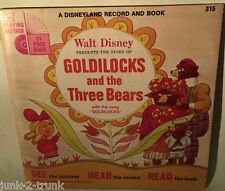 1967 Walt Disney - Lot of 4 vintage records & books - No. 319, 317, 315 and 326
