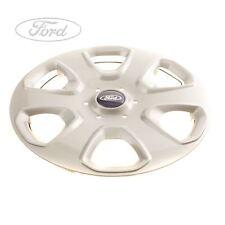 "Genuine Ford KA 14"" Inch Wheel Trim Silver SINGLE 1558649"