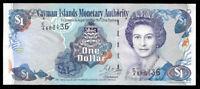 World Paper Money - Cayman Islands 1 Dollar 2001 @ Crisp XF+